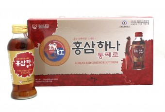 GEUMHONG One Whole Korean Red Ginseng Drink