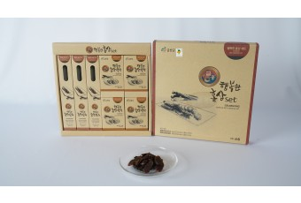 GEUMHONG Honeyed Korean Red Ginseng and Sliced Red Ginseng Set